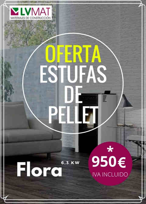 Ofertas y oportunidades cons ltalas lv materials for Oferta estufa pellets